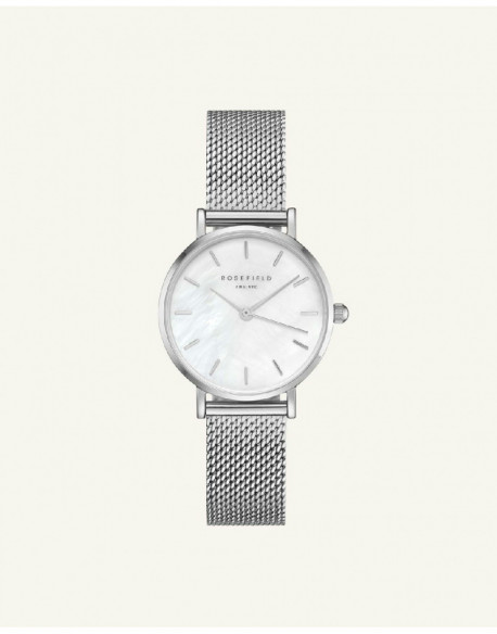 Reloj Rosefield The small edit white