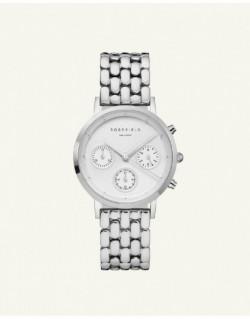 Reloj Rosefield The Chrono White