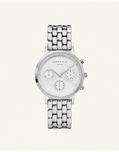 Reloj Rosefield The Chrono White