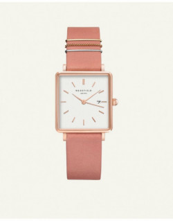 Reloj Rosefield The Boxy White Old